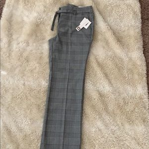 Anne Klein plaid trouser